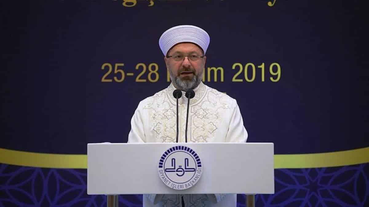 Diyanet İşleri Başkanı Ali Erbaş: Dini hükümler yeniden yorumlanabilir
