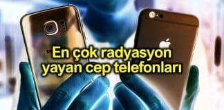 En çok radyasyon yayan cep telefonları hangileri?