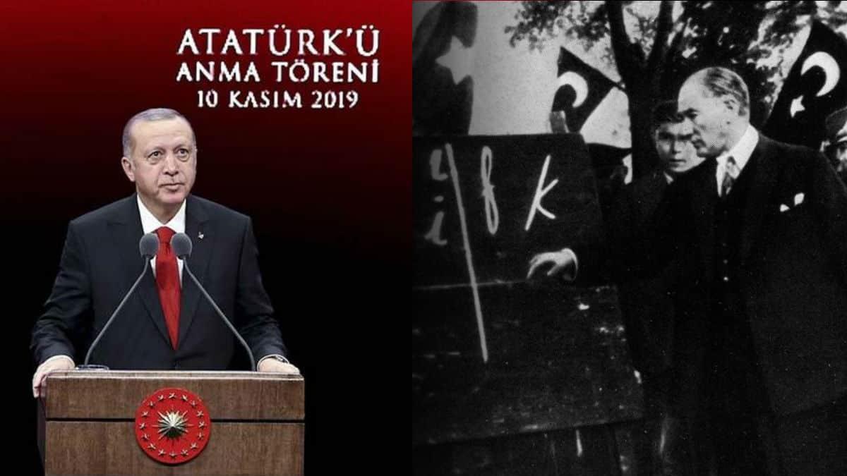 Erdoğan: Harf devrimi ile her şeyin sıfırlandığı bir dönem yaşandı