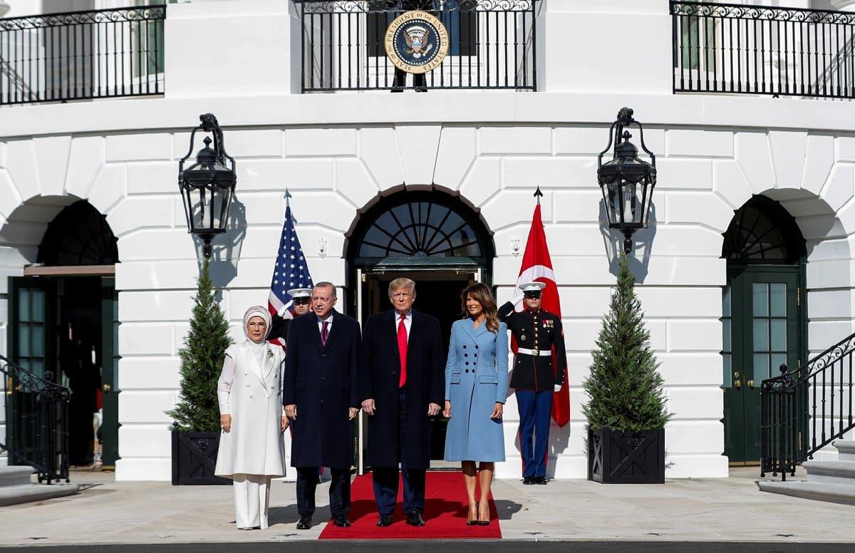 erdoğan trump görüşmesi beyaz saray the white house