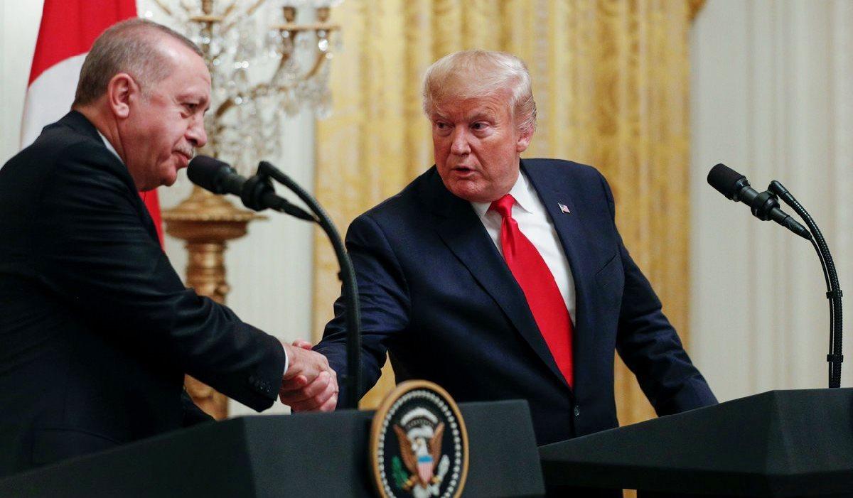 Erdoğan Trump görüşmesi: Trump'tan Erdoğan'a: Onun büyük hayranıyım