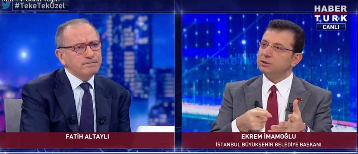 fatih altaylı ekrem imamoğlu haber türk