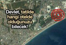 GSM operatörleri, tatile gittiğiniz şehir ve otelleri devlete bildirecek