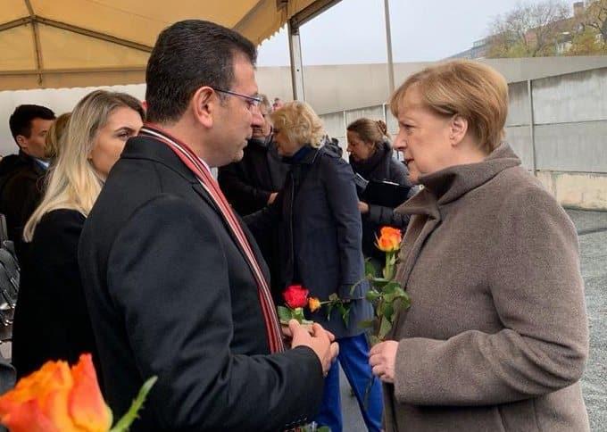 İmamoğlu, Merkel'i İstanbul'a davet etti
