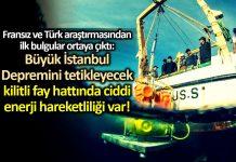 İstanbul açıklarındaki kilitli fay hattı büyük deprem yapabilir!