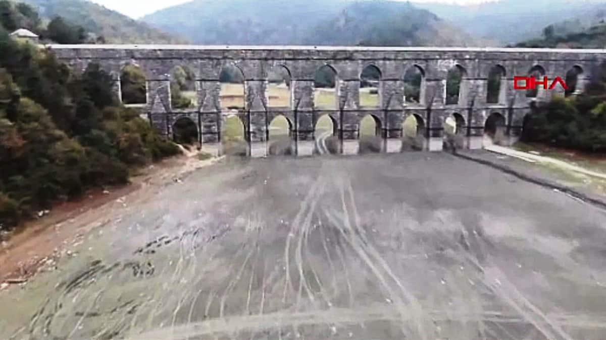 İstanbul barajlarında doluluk oranı yüzde 38,79 olarak kayıtlara geçti