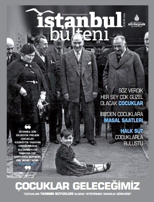 ibb istanbul bülteni dergisi atatürk kapak