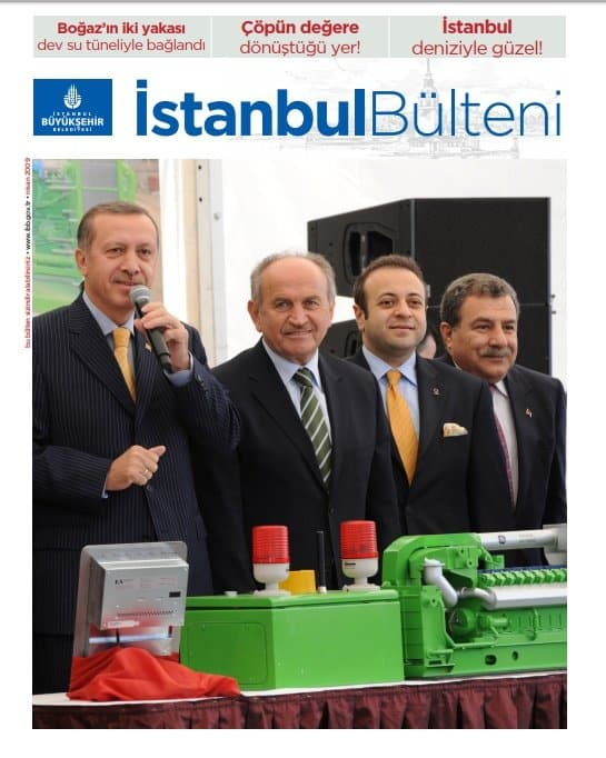 ibb istanbul bülteni dergisi erdoğan kadir topbaş egemen bağış muammer güler nisan 2009