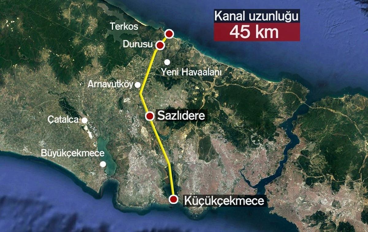 Kanal İstanbul nedir projesinde plan kesinleşince ihaleye çıkılacak