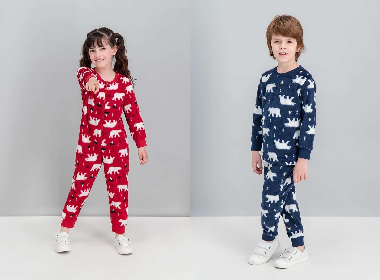kız erkek çocuk Pijama ve Ev Giyim