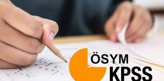 KPSS geçerlilik süresi artık bir yıl: Her yıl sınav ücreti ödenecek