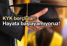 KYK borcunu ödeyemeyen üniversite mezunu sayısı 5 milyona ulaştı!