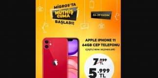Migros Efsane Cuma için iPhone 11'de dev indirim yaptı; izdiham yaşandı!