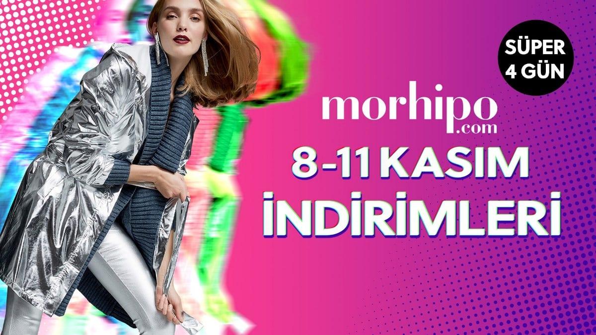 Morhipo.com Kasım ayında yüzde 80 varan indirim