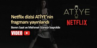 Netflix Türk dizisi Atiye Beren Saat ve Mehmet Günsür başrolde