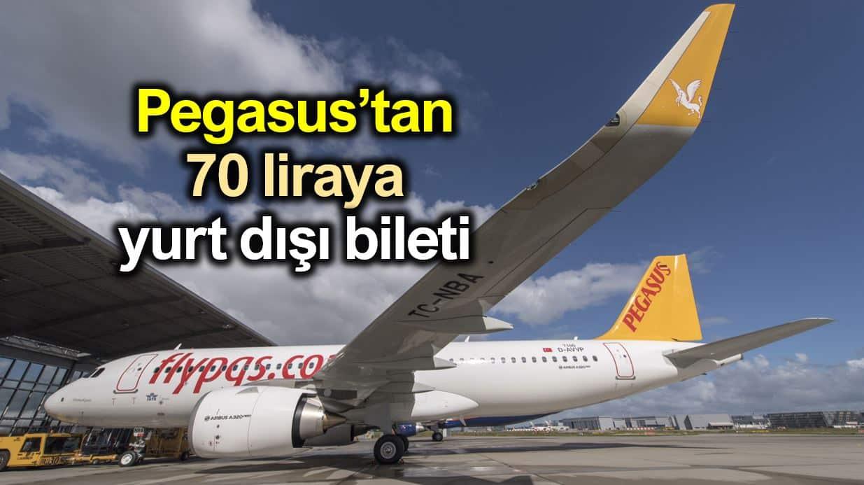 Pegasus 11 Euro indirimli yurt dışı uçak bileti