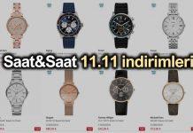 Saat & Saat 11.11 büyük indirimleri: 9-10-11 Kasım