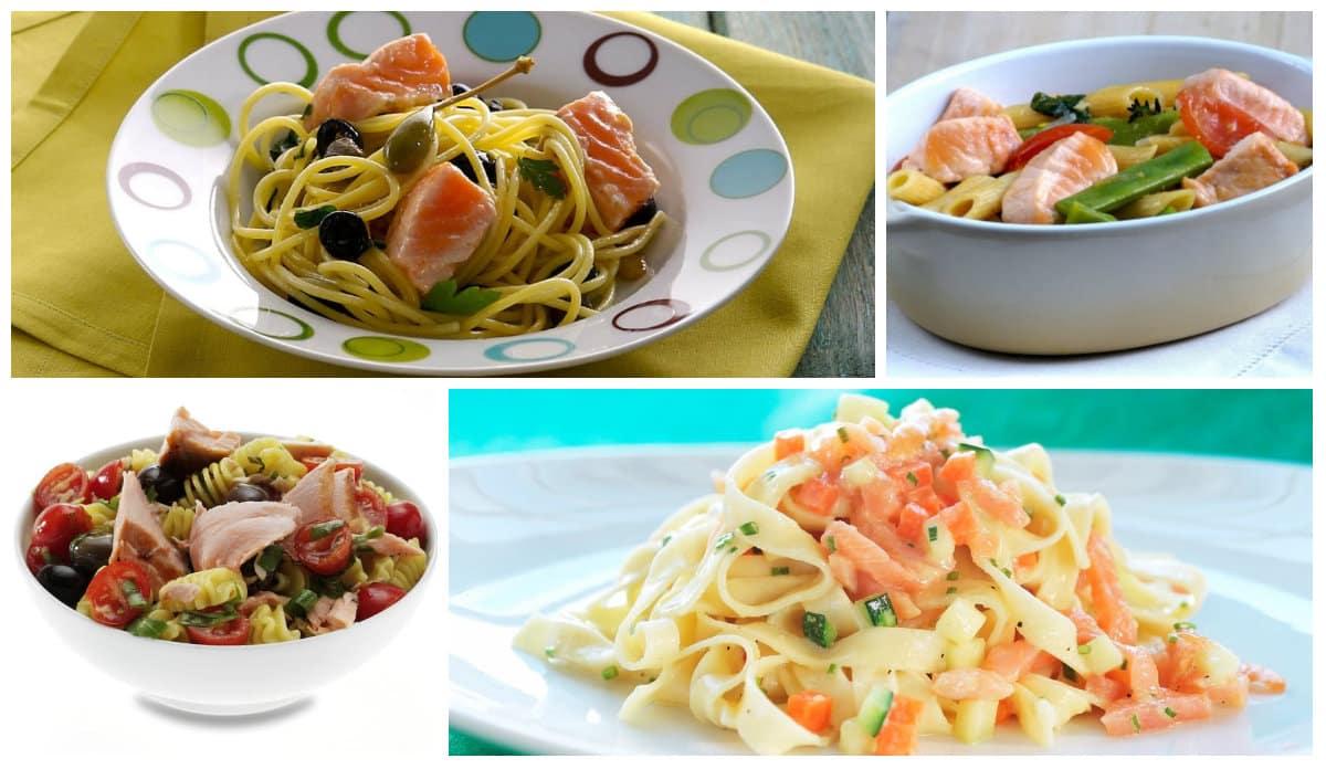 Somonlu makarna tarifleri: Spagetti, Tagliatelle, Penne, Alla Puttanesca