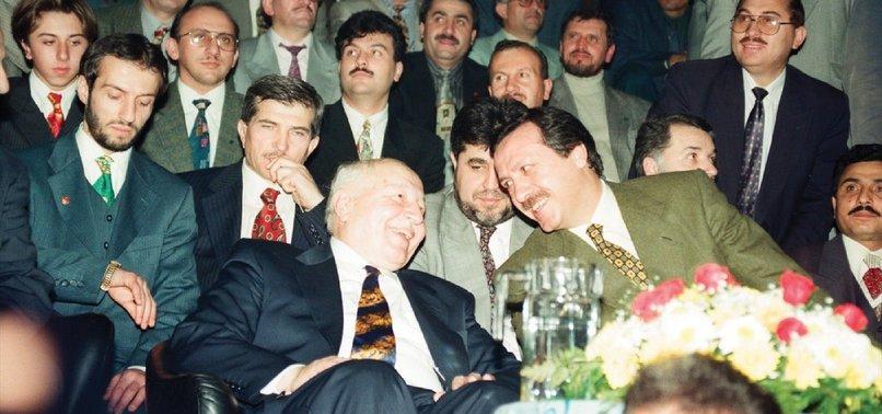 necmettin erbakan tayyip erdoğan yenilikçiler gelenekçiler davutoğlu gül babacan gelecek partisi