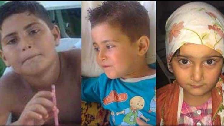 9 yaşındaki Mehmet Emin, 3 yaşındaki Mahmut ve 7 yaşındaki Semanur, anneleri Selma C. tarafından bıçaklanarak öldürülmüştü.