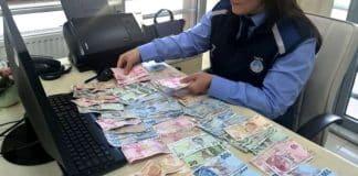 Dilencinin üstünden çıkan para hazineye devredildi