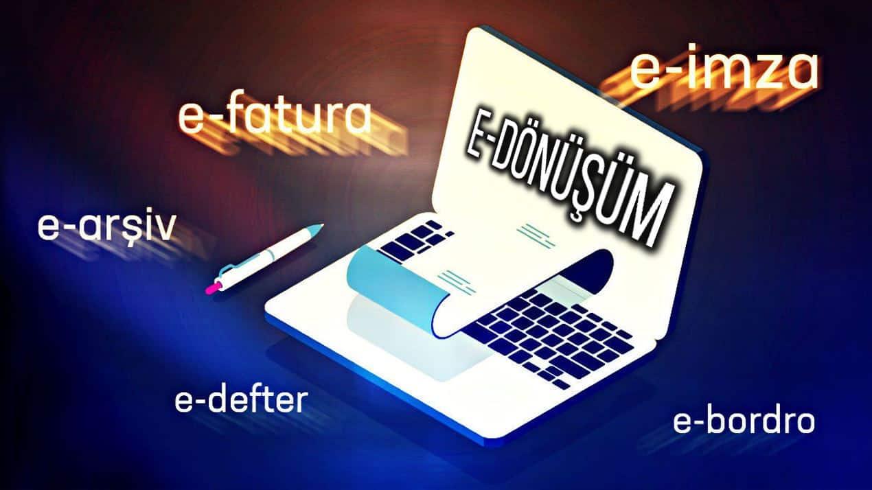 e-Dönüşüm uygulamaları fatura arşiv irsaliye defter ceza