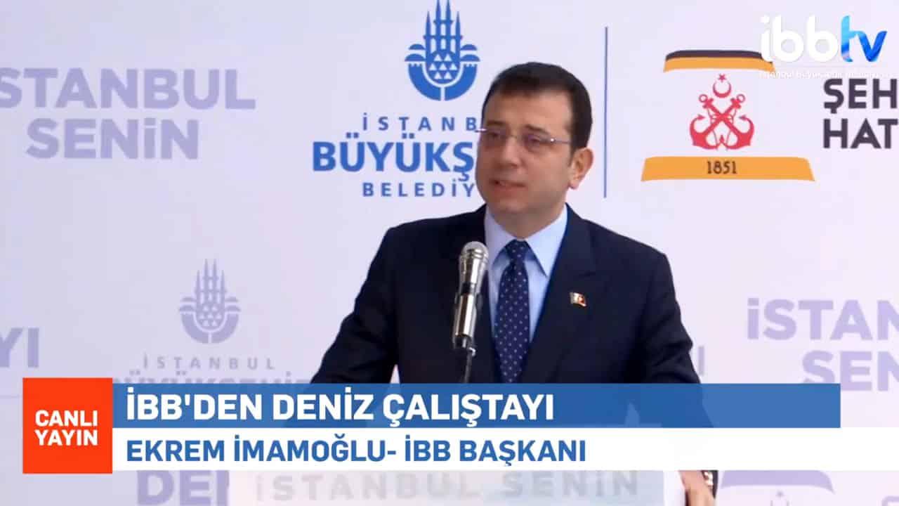 Ekrem İmamoğlu: Kanal İstanbul bir dayatmadır, yeni bir rant projesi mi?