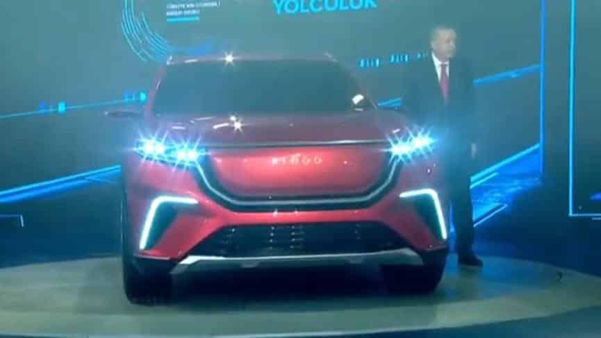 erdoğan togg yerli otomobil lansmanı