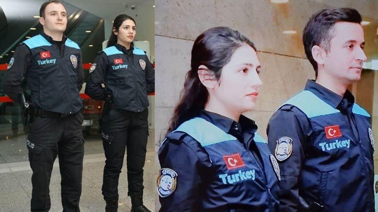 Havalimanı pasaport polisi üniforması değişti: Turkey değil Türkiye yazmalıydı!
