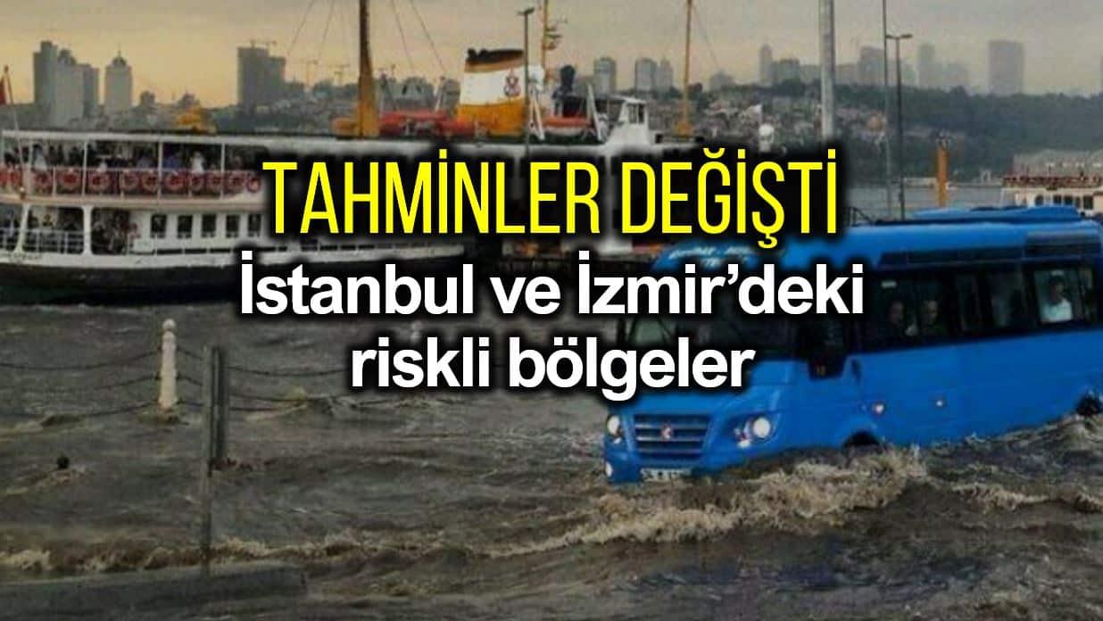 İklim değişikliği nedeniyle İstanbul ve İzmir sel riski artan ilçeler