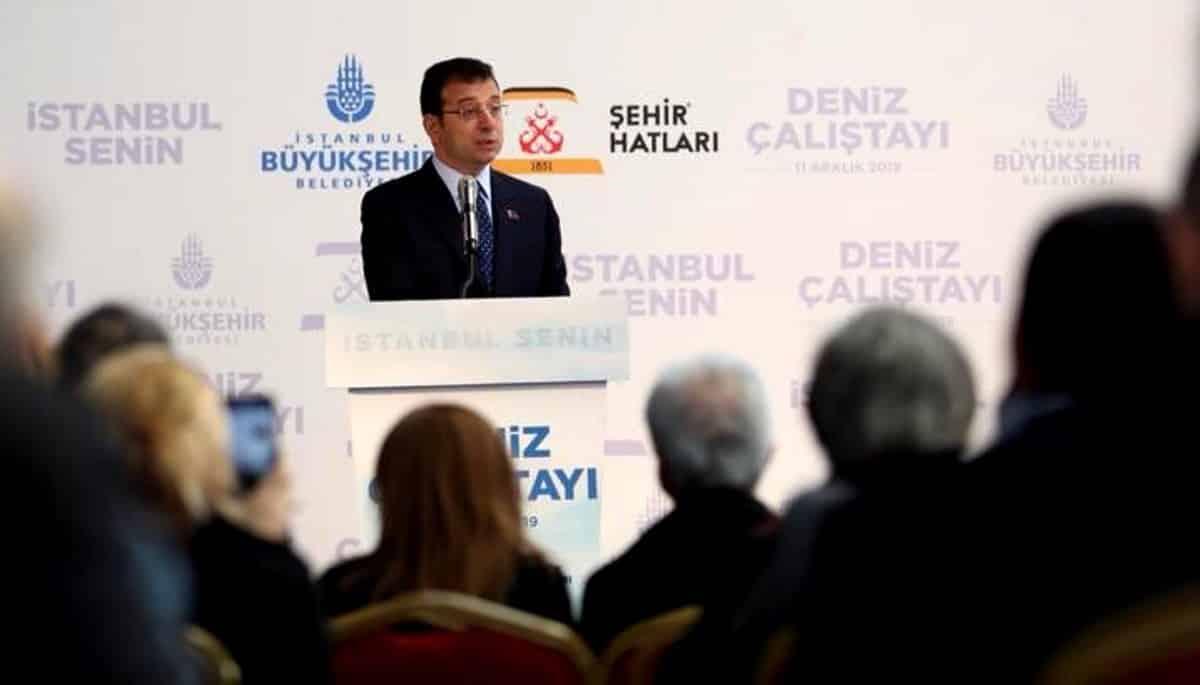 Ekrem İmamoğlu: Kanal İstanbul dan çıkan hafriyatla üç ada oluşturulacak