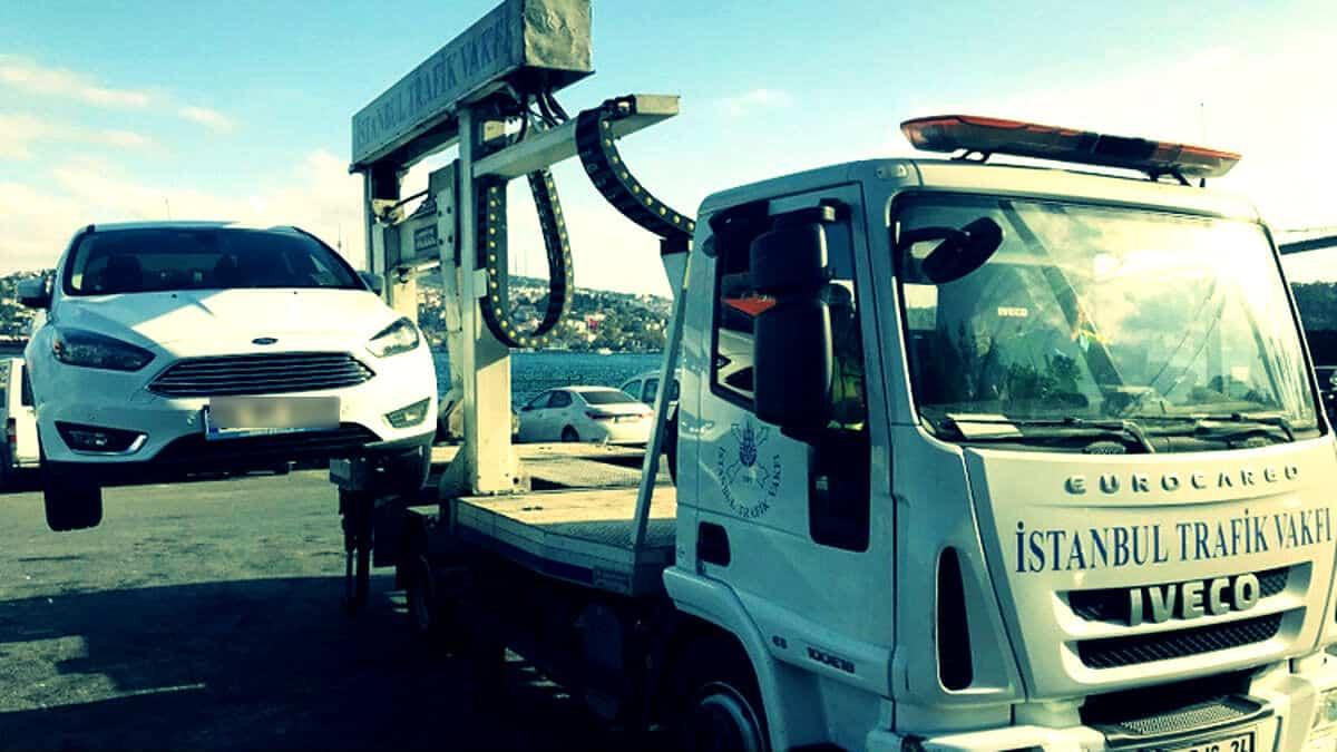 İstanbul Trafik Vakfı artık araç çekme işlemi yapmayacak