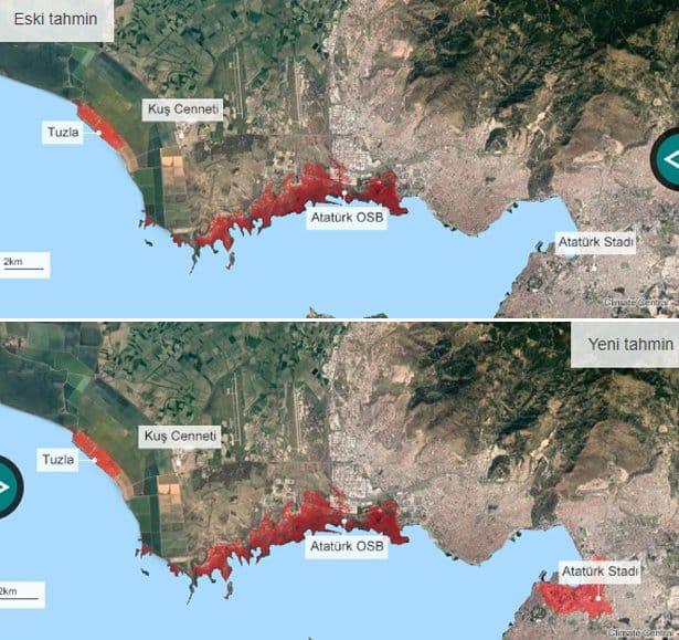İzmir Kuş Cenneti iklim değişikliği sel su baskını
