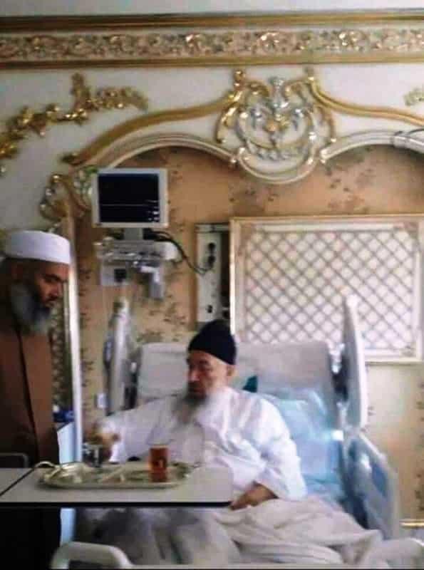 Menzil Tarikatı lideri Gavs hastane odası emsey hastanesi pendik