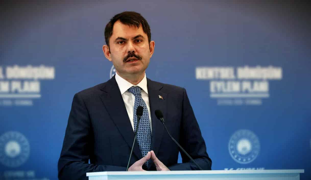 Çevre Bakanı Murat Kurum: Kanal İstanbul, Boğaziçi'ni koruma, kurtarma projesidir