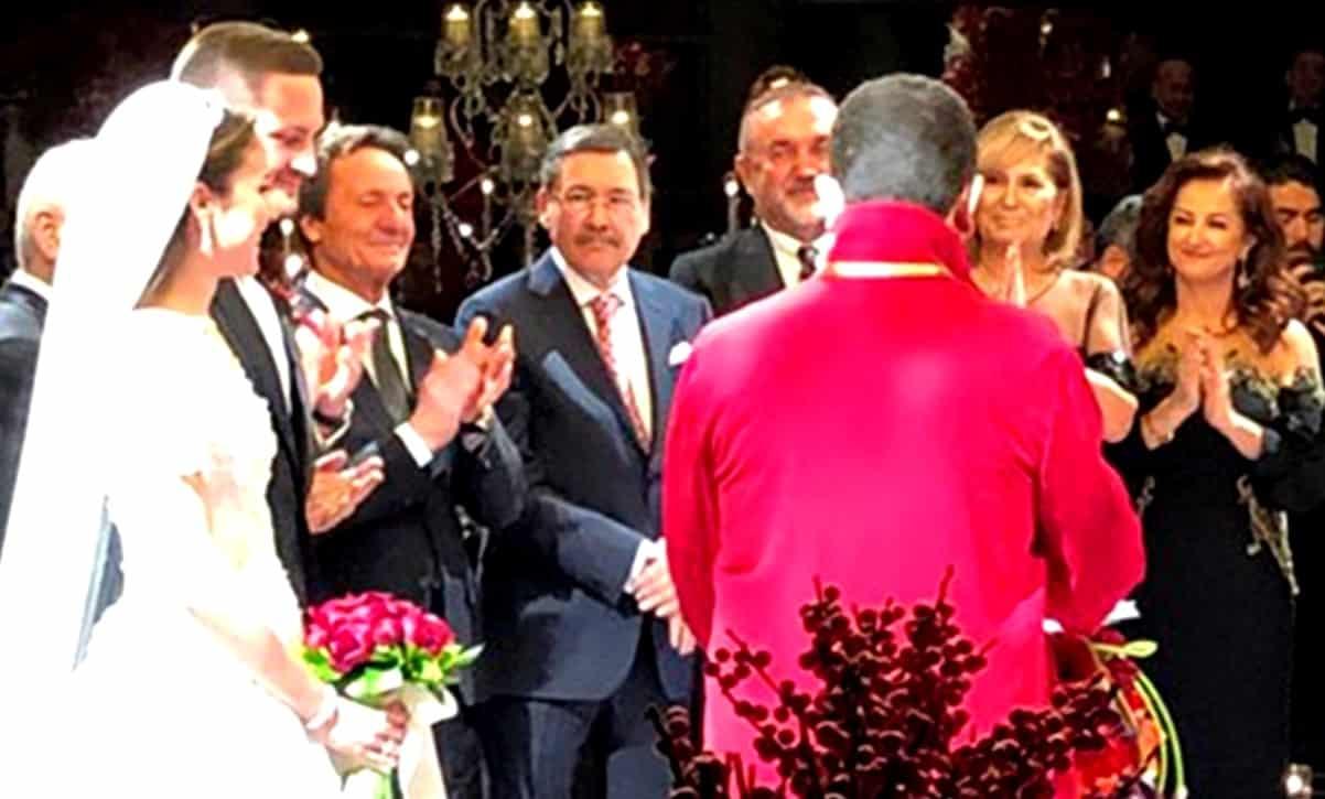 Mustafa Sarıgül oğlu evlendi, Melih Gökçek şahit oldu