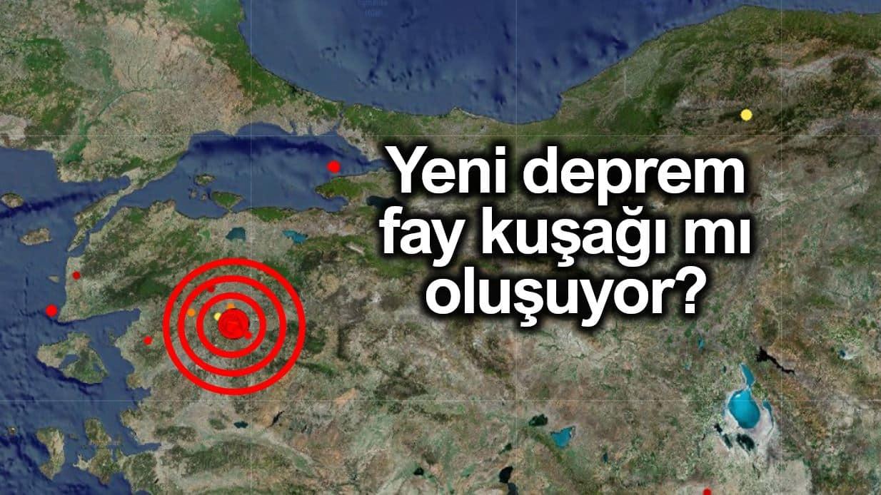Yeni bir deprem fay kuşağı mı ortaya çıkıyor?