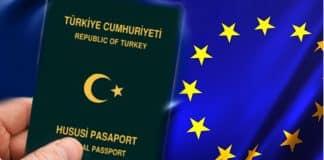 Yeşil ve gri pasaport sahipleri için Avrupa muafiyet sınırlaması