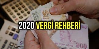 2020 yılı şirketler için vergi rehberi: Tam liste