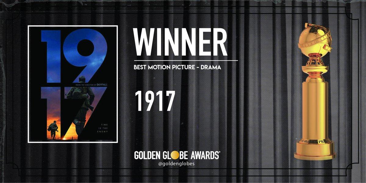 77. Altın Küre Ödülleri sahiplerini buldu: 1917 en iyi drama filmi