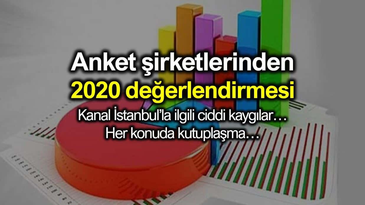 Anket şirketlerinden 2020 siyaseti için değerlendirmeler