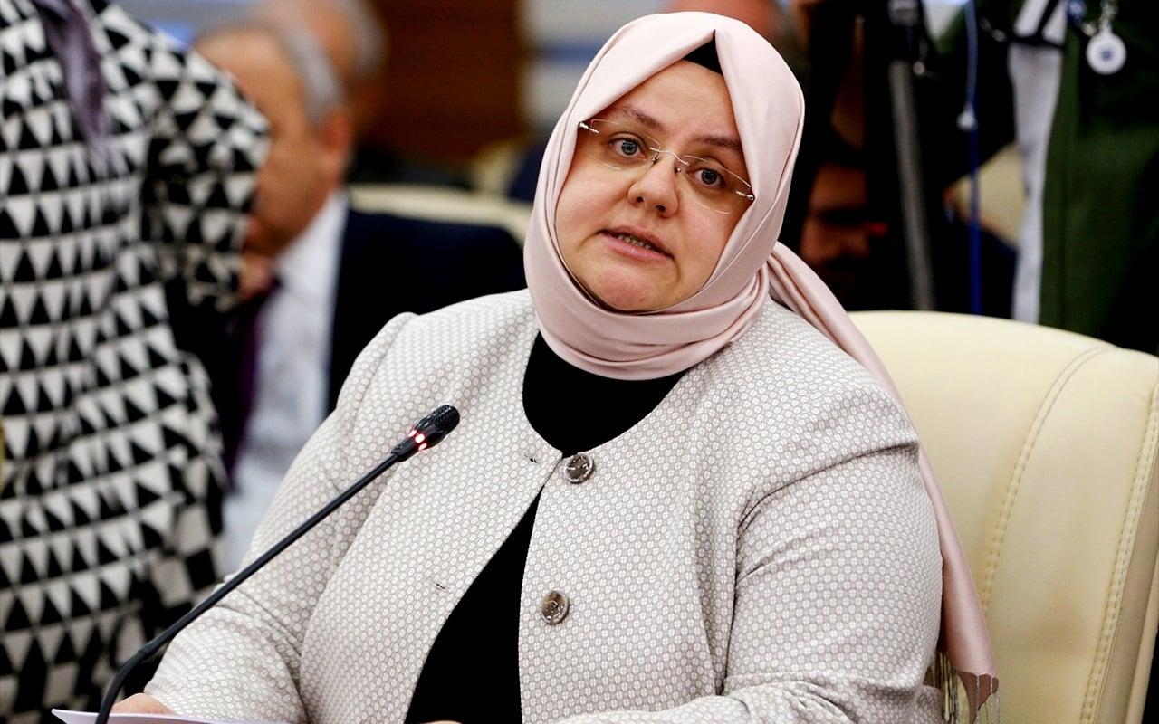 Bakan Zehra Zümrüt Selçuk: Asgari ücret jestimiz 75 lira