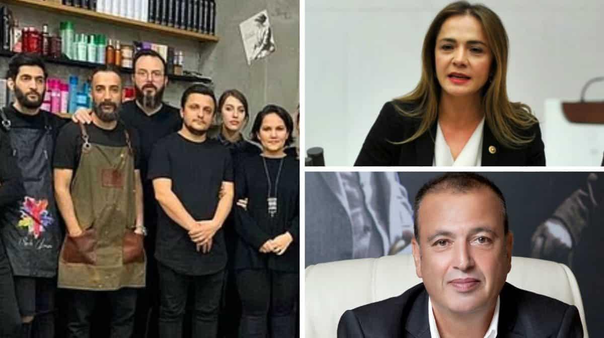CHP ilgezdi Ataşehir kuaförü mühürlettiği iddiası
