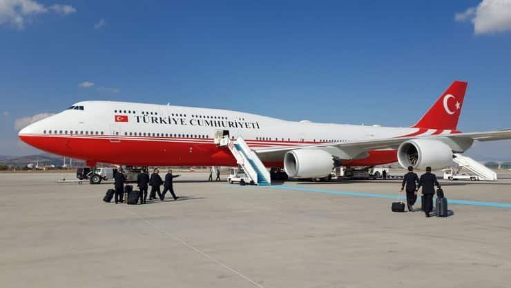cumhurbaşkanlığı uçağı boeing 747 türkiyenin air force one ı