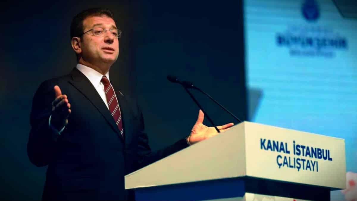 Ekrem İmamoğlu Kanal İstanbul için Nasreddin Hoca fıkrası