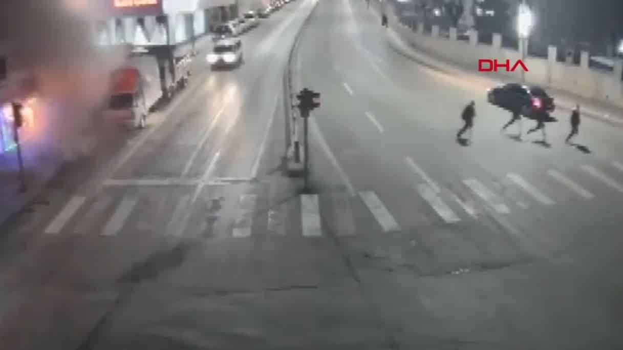 Elazığ deprem anı mobese kameralarına yansıdı