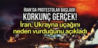 İran, Ukrayna yolcu uçağını neden vurduğunu açıkladı