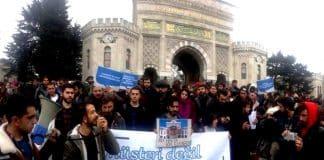 İstanbul Üniversitesi öğrencilerinden yemek boykotu