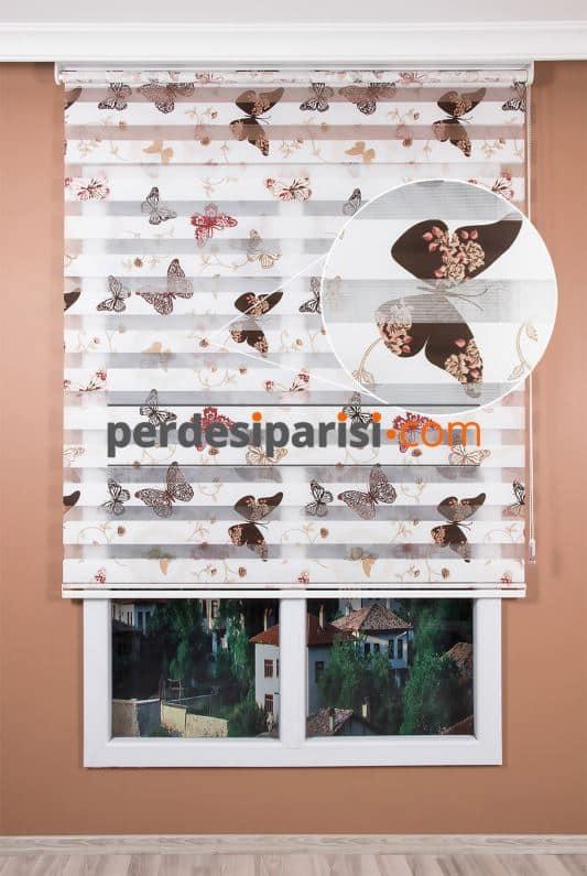 Baskılı Zebra Perde Modelleri
