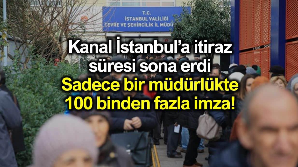 Kanal İstanbul için itiraz süresi bitti: Şimdi ne olacak?